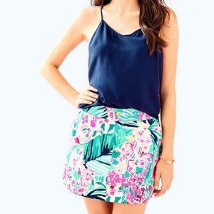 NWT Lilly Pulitzer Nicki Skort Vila Flora Skirt